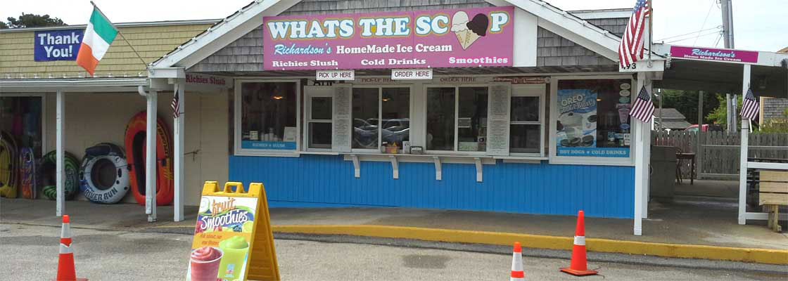 What's The Scoop Ice Cream in Dennis Port