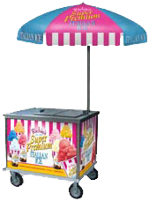 Richie's Italian Ice Cart